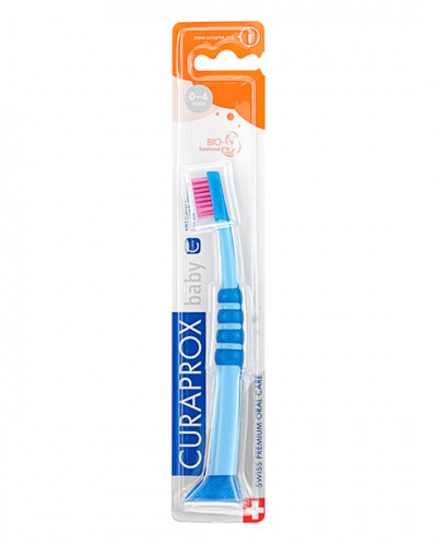 Baby Toothbrush blue-pink